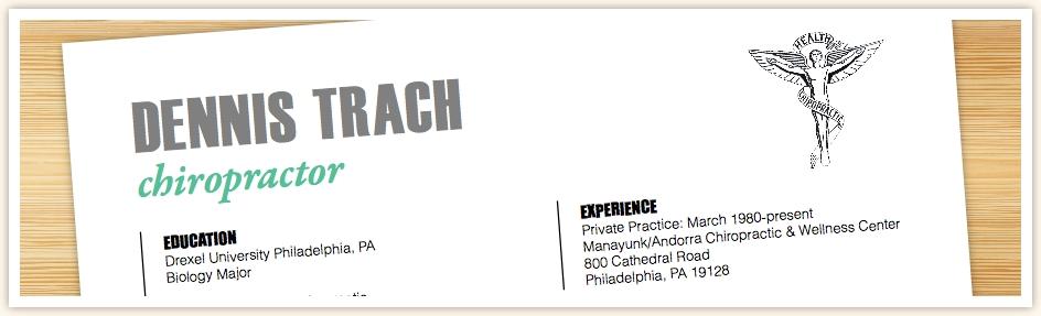 resume - Chiropractic Resume